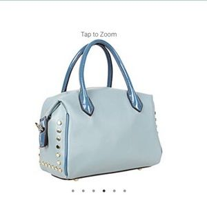 Nicole Lee Bags - ✤ Maarii Button Mini Boston Bag